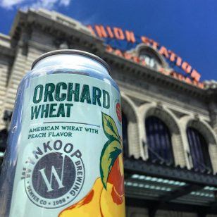 Peachy keen. #unionstationfarmersmarket #wynkoopbrews #saturday #stateofcraftbeer #coldbeer