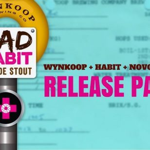 This Saturday... Bad Habit blonde stout is on the loose. Get your free release party tix today (link in bio). Free beer, doughnut bites and face time with the masterminds of Bad Habit.