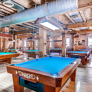 BILLIARDS PARLOR