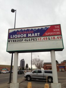 WYNKOOP BEER OF THE MONTH AT LIQUORMARTS IN MARCH!