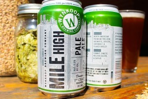 MILE HIGH PALE ALE DEBUTS NEW CAN DESIGN