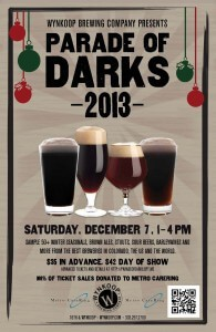 PARADE OF DARKS DECEMBER 7TH 2013 1-4PM AT WYNKOOP